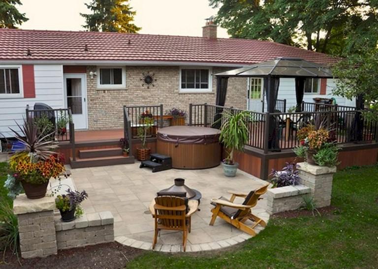 30+ Amazing backyard patio deck design ideas