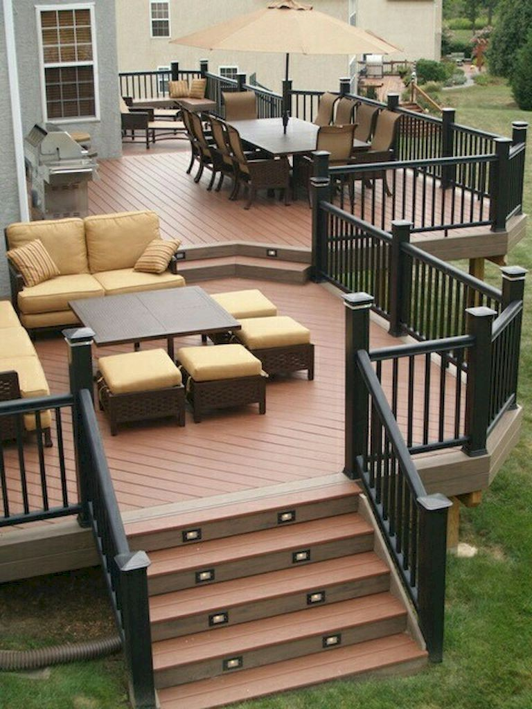 30+ Amazing backyard patio deck design ideas - Page 4 of 32 on Patio With Deck Ideas id=97138