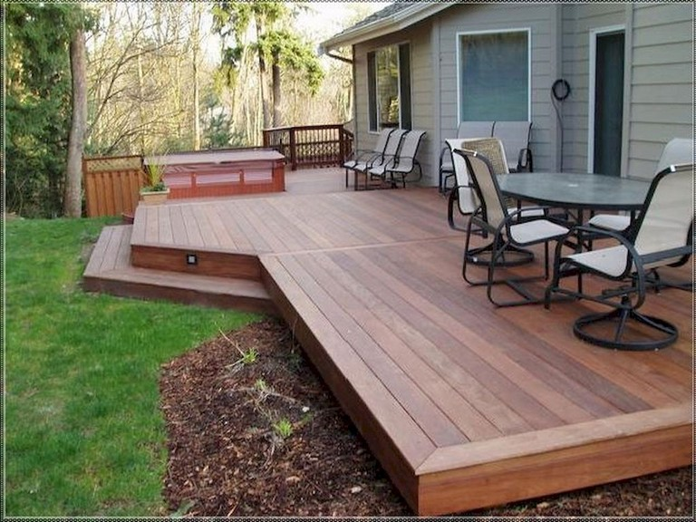 34 Comfy Backyard Patio Deck Designs Ideas For Relaxing