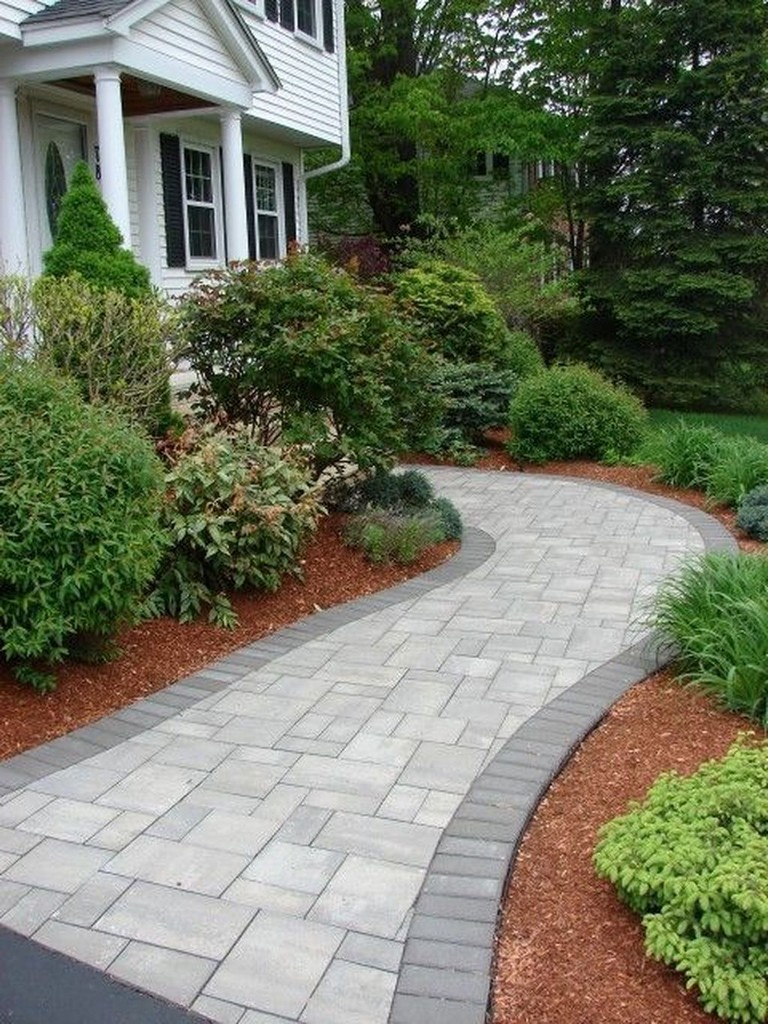35+ Beauty Front Yard Pathways Landscaping Ideas on A Budget on Landscaping Ideas For Front Yard On A Budget id=33392