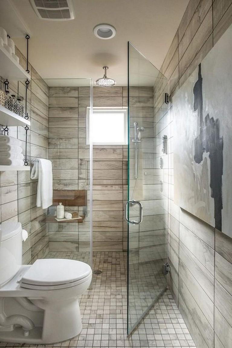 47+ Awesome Farmhouse Bathroom Tile Floor Decor Ideas and ... on Farmhouse Bathroom Tile  id=94969