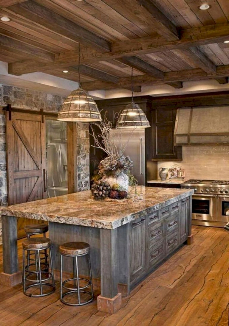 67+ The Top Rustic Farmhouse Kitchen Cabinets Ideas - Page ...