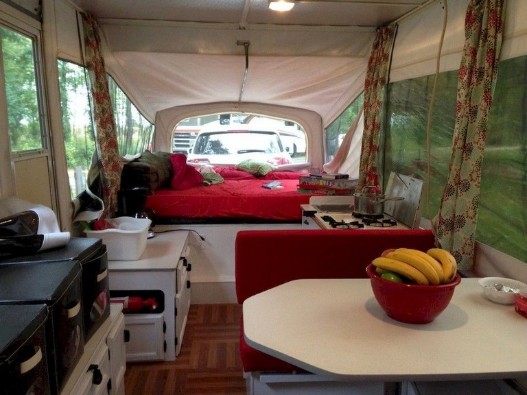 72+ Marvelous Modern RV Camper Interior Design Ideas