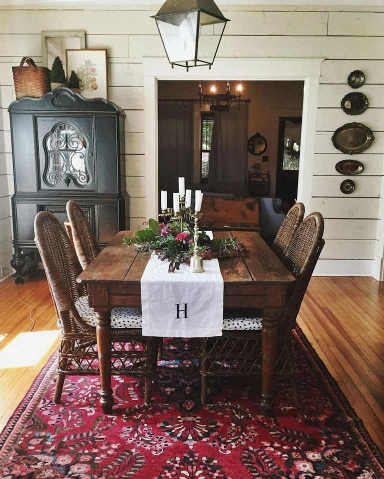 75+ Rural Dining Room Decorating Ideas