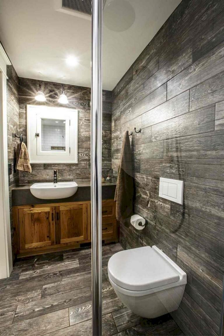 101 STUNNING FARMHOUSE BATHROOM TILE FLOOR DECOR IDEAS AND ... on Farmhouse Bathroom Tile  id=98568