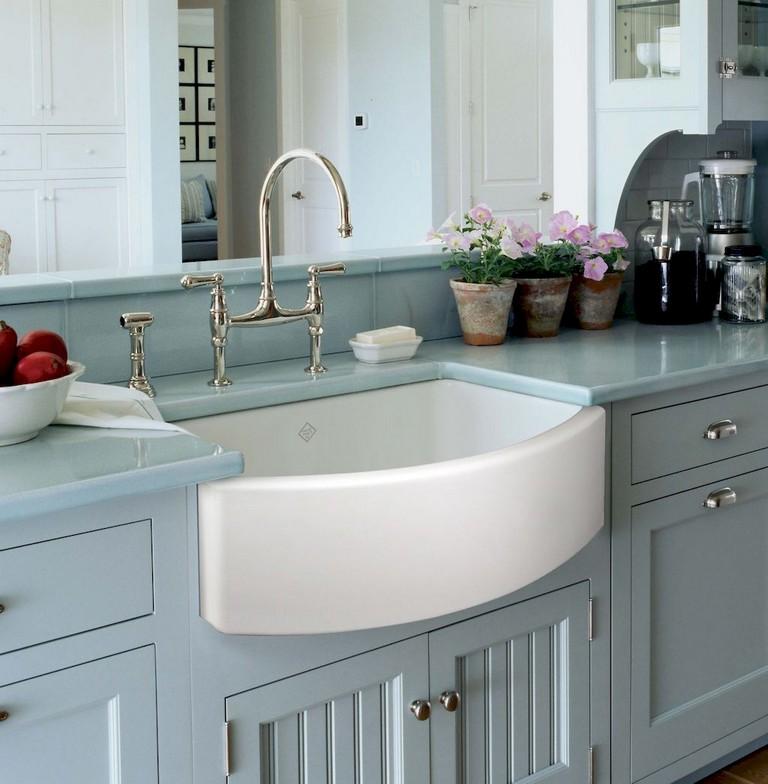 67+ Cool Modern Farmhouse Kitchen Sink Decor Ideas - Page ...