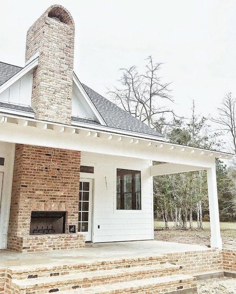 Farmhouse Remodel Ideas Exterior: 74+ Best Rustic Farmhouse Exterior Design Ideas