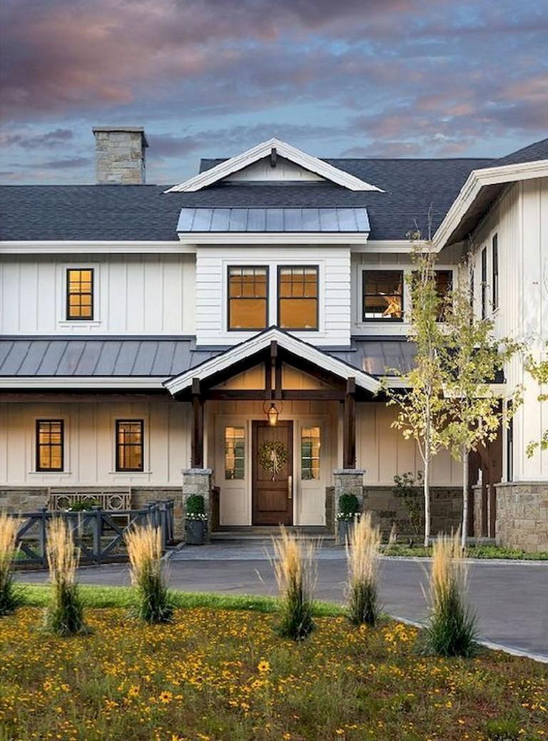 The Best Exterior House Design Ideas: 74+ Best Rustic Farmhouse Exterior Design Ideas
