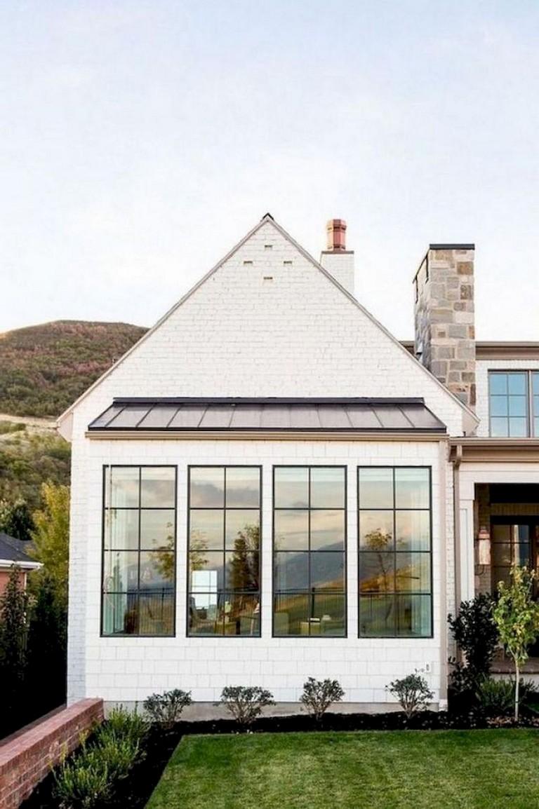 Exterior: 74+ Best Rustic Farmhouse Exterior Design Ideas