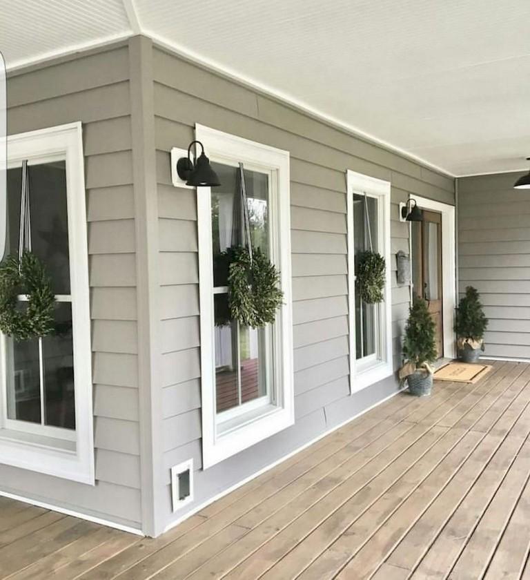 Home Design Ideas Outside: 74+ Best Rustic Farmhouse Exterior Design Ideas